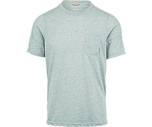 Trailhead Short Sleeve Tee with Drirelease®, High Rise Heather, dynamic