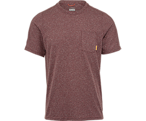 Trailhead Short Sleeve Tee with Drirelease®, Syrah Heather, dynamic