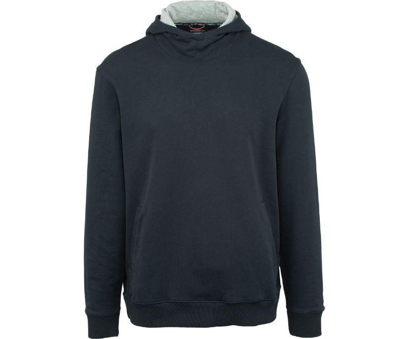 Trailhead French Terry Pullover Hoody, Navy, dynamic