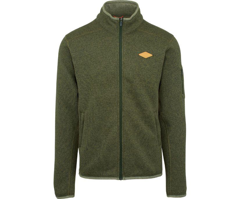 Trailhead Sweater Knit Full Zip, Mountain View, dynamic