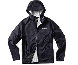 Fallon Rain Jacket, Black, dynamic