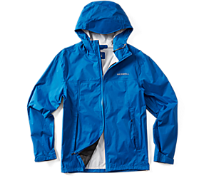 Fallon Rain Jacket, Blue, dynamic