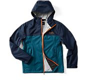 Fallon Rain Jacket, Navy, dynamic