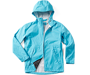 Fallon Rain Jacket, Button, dynamic