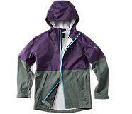 Fallon Rain Jacket, Malbec, dynamic