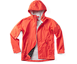 Fallon Rain Jacket, Goldfish, dynamic