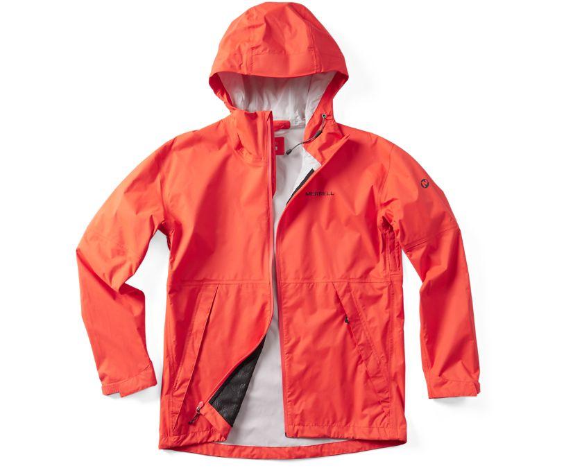 Fallon Rain Jacket, Goldfish, dynamic