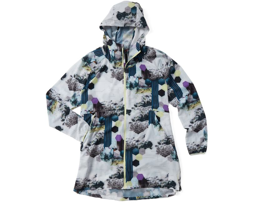Ultralite Parka, Multi Print, dynamic