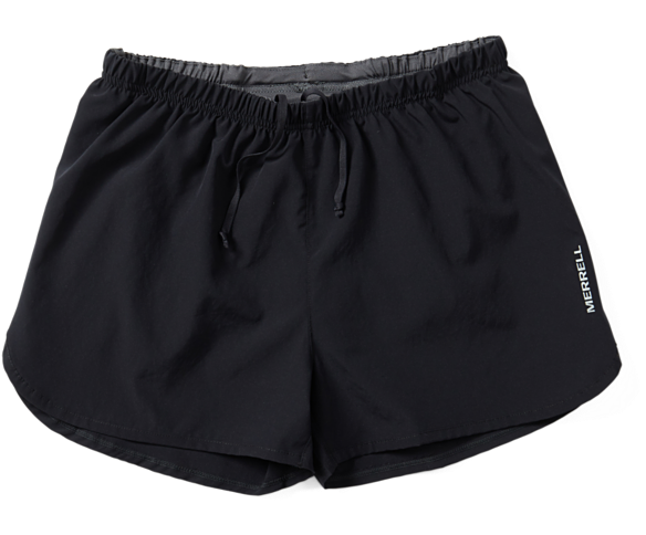 Entrada II Run Short, Black, dynamic