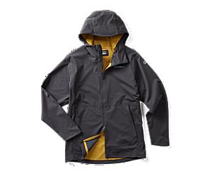 Whisper Rain Jacket, Asphalt, dynamic