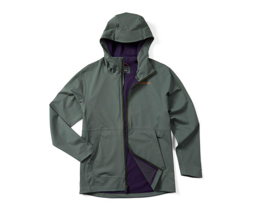 Whisper Rain Jacket, Laurel, dynamic