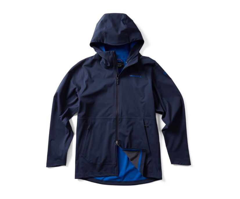 Whisper Rain Jacket, Navy, dynamic