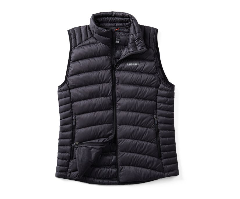 Ridgevent™ Thermo Vest, Black, dynamic