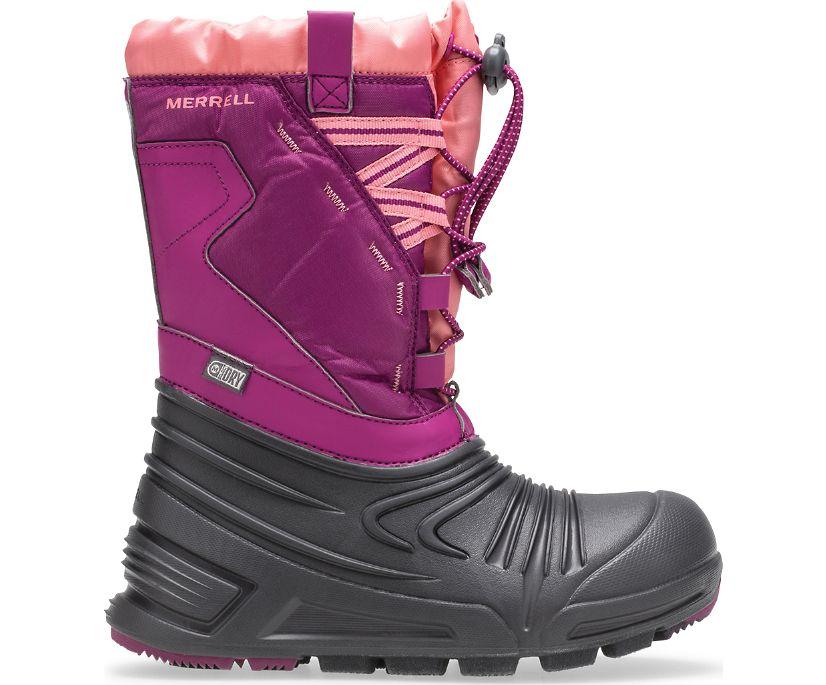 Snow Quest Lite 2.0 Waterproof Boot, Berry, dynamic