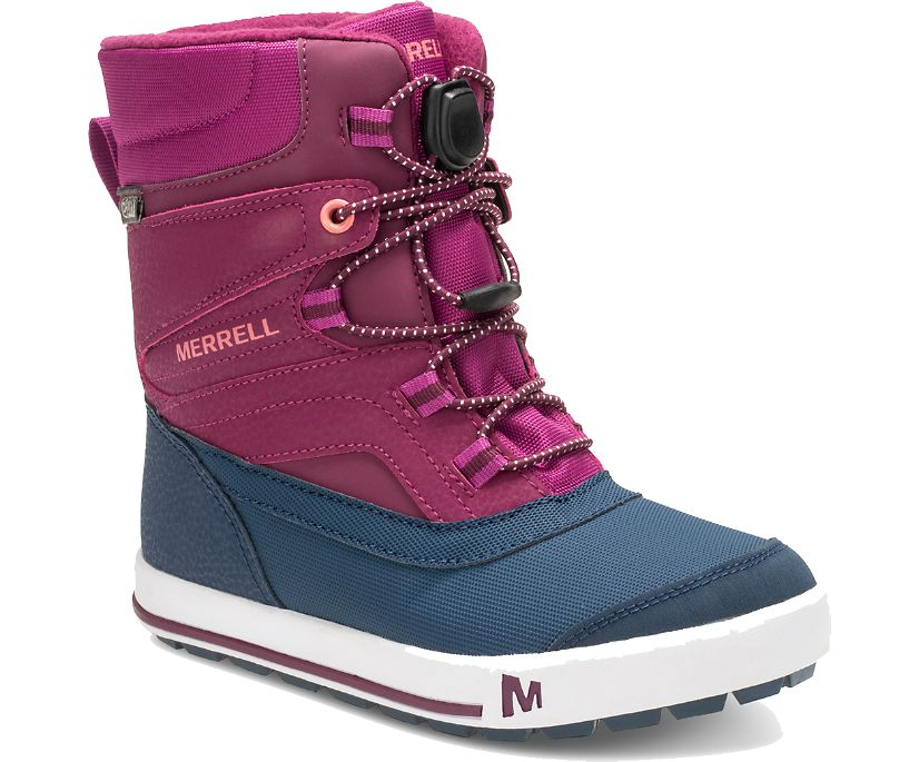 Snow Bank 2.0 Boot, Berry, dynamic