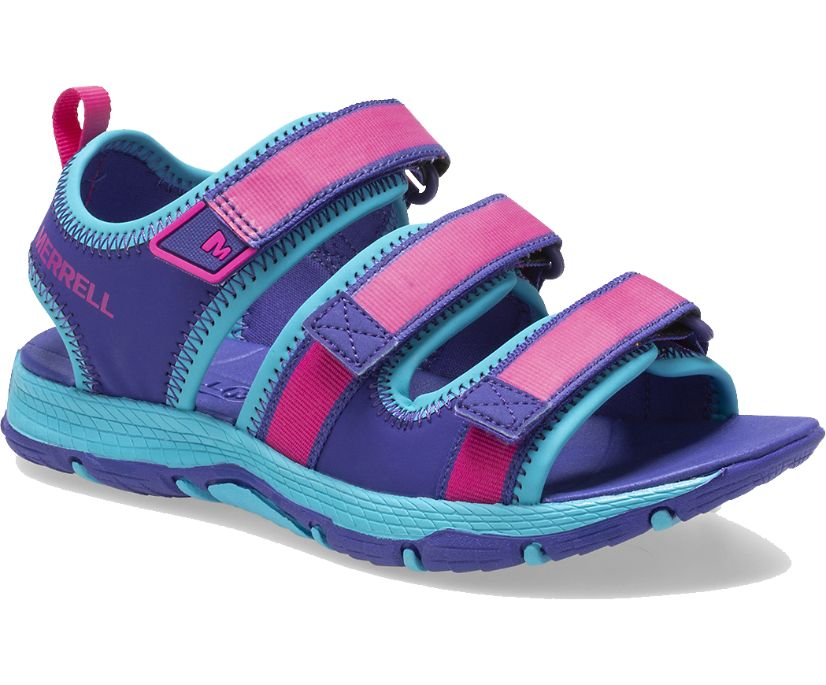 Hydro Creek Sandal, Purple/Multi, dynamic