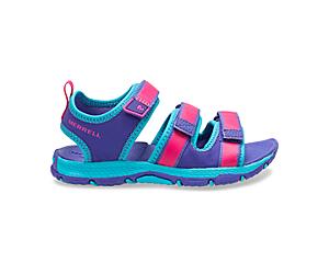 Hydro Creek Sandal, Purple/Multi, dynamic