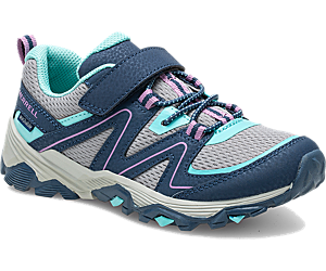 Trail Quest, Navy/Grey/Turquoise, dynamic