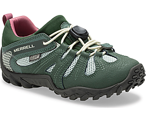 Chameleon 8 Low Stretch Waterproof Shoe, Laurel, dynamic