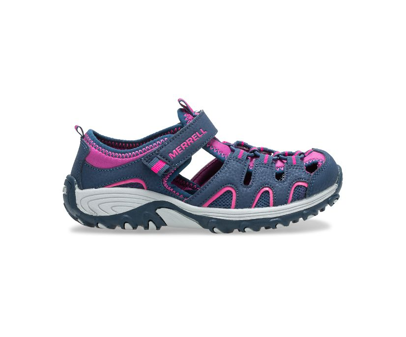 Hydro H2O Hiker Sandal, Navy/Berry, dynamic
