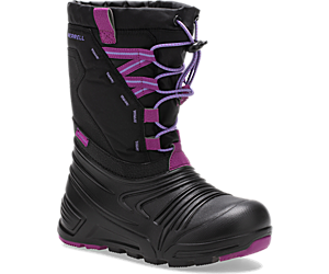 Snow Quest Lite 2.0 Waterproof Boot, Black/Berry, dynamic