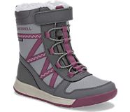 Snow Crush 2.0 Waterproof Boot, Grey/Berry, dynamic