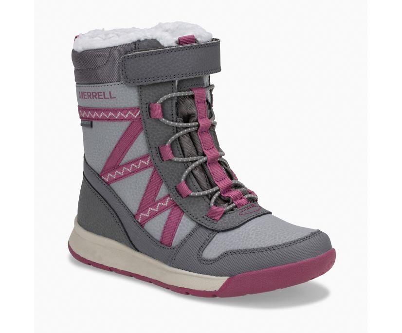 Snow Crush 2.0 Waterproof Boot, Grey/Berry, dynamic