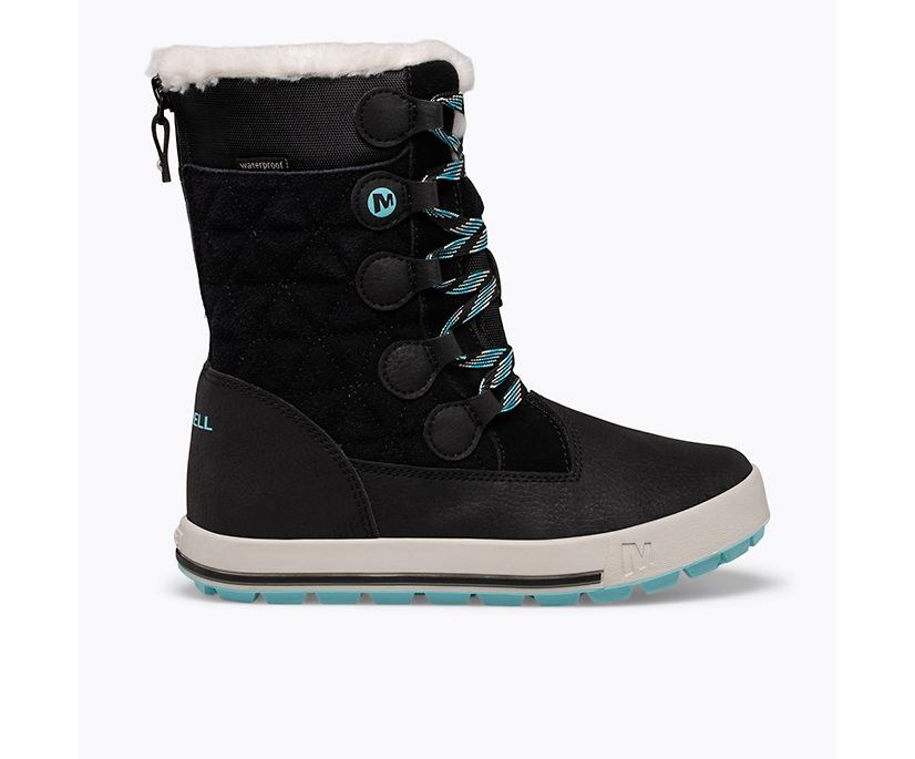 Heidi Waterproof Boot, Black, dynamic