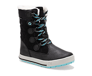 Heidi Waterproof Boot, Black, dynamic