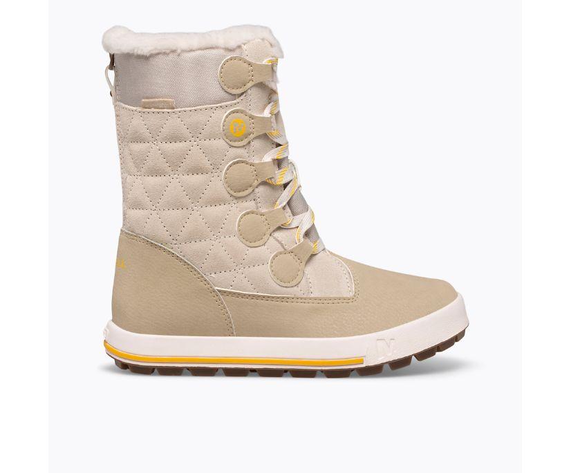 Heidi Waterproof Boot, Winter White, dynamic