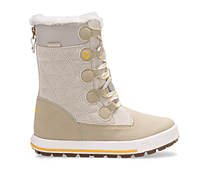 Heidi Waterproof Boot, Winter White, dynamic