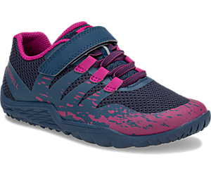 Trail Glove 5 A/C Shoe, Navy/Fuchsia, dynamic