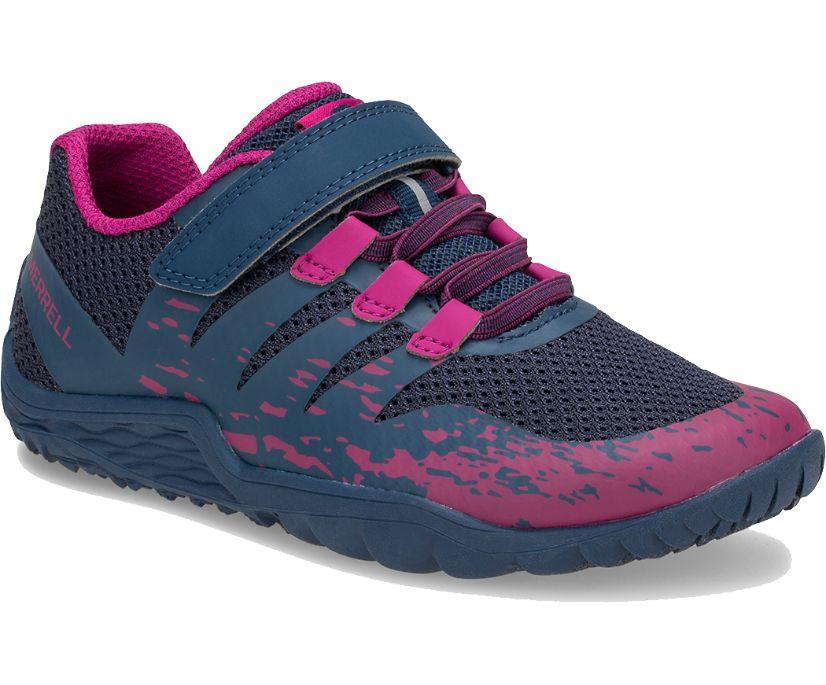 Trail Glove 5 A/C Shoe, Navy/Fuchsia, dynamic