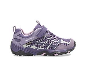 Moab FST Low A/C Waterproof Sneaker, Cadet/Purple Ash, dynamic