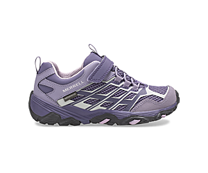 Moab FST Low A/C Waterproof Sneaker, Cadet/Purple Ash, dynamic