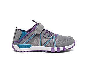 Hydro Free Roam Sandal, Grey/Purple, dynamic