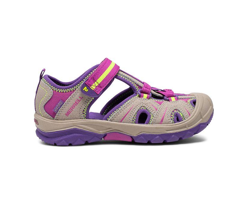 Hydro Sandal, Tan/Purple, dynamic