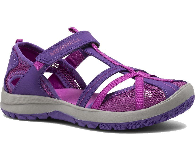 Dragonfly Sandal, Purple, dynamic