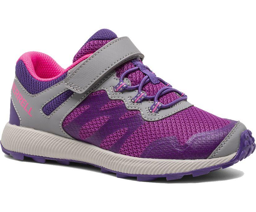 Nova 2 Sneaker, Grey/Purple/Berry, dynamic