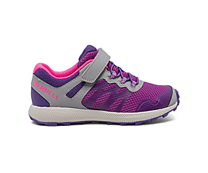 Nova 2 Sneaker, Grey/Purple/Berry, dynamic