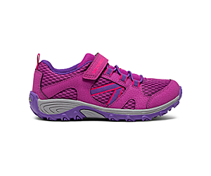 Outback Low Sneaker, Berry, dynamic