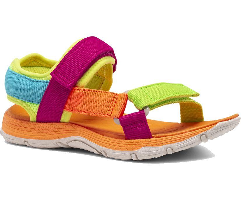 Kahuna Web Sandal, Pink Multi, dynamic