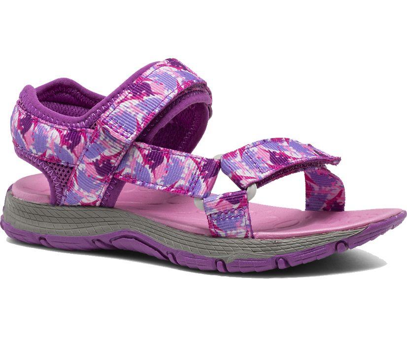 Kahuna Web Sandal, Pink Dino, dynamic