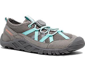 Hydro Lagoon Sandal, Grey/Turquoise, dynamic