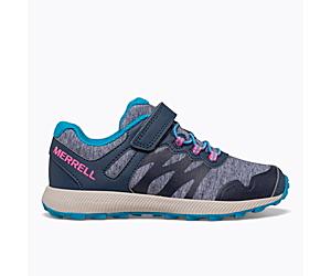 Nova 2 Sneaker, Navy/Heather/Turquoise, dynamic