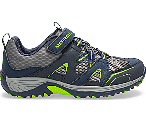 Trail Chaser Shoe, Navy/Green, dynamic