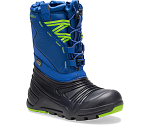 Snow Quest Lite 2.0 Waterproof Boot, Blue, dynamic