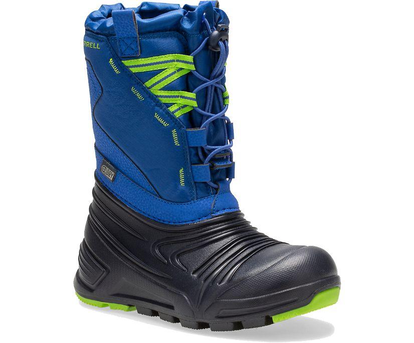Snow Quest Lite 2.0 Waterproof Boot, Blue, dynamic