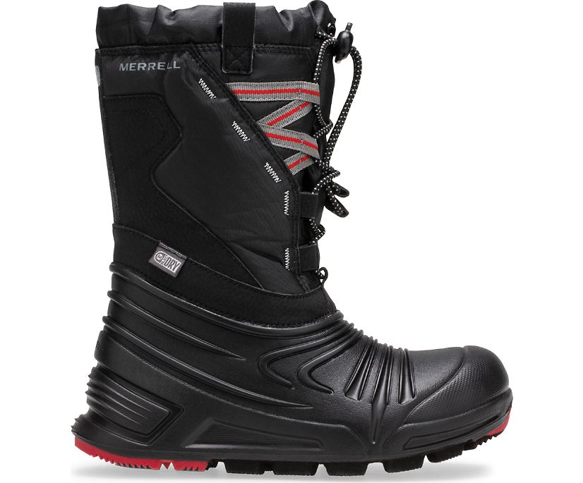 Snow Quest Lite 2.0 Waterproof Boot, Black, dynamic