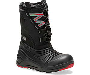 Snow Quest Lite 2.0 Waterproof Boot, Black, dynamic